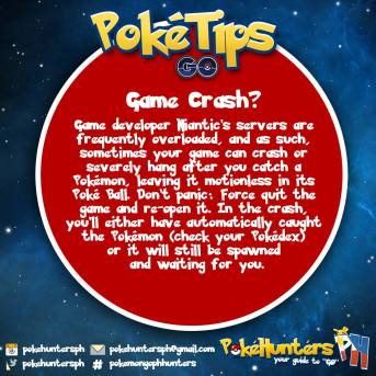 PokeTips - Game Crash? Save Your Pokemon