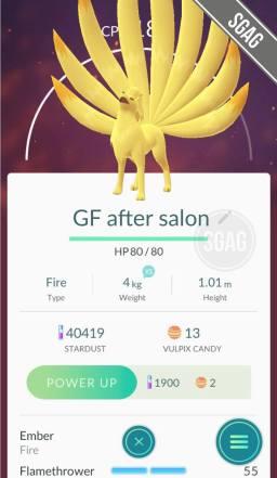 if my gf was a pokemon