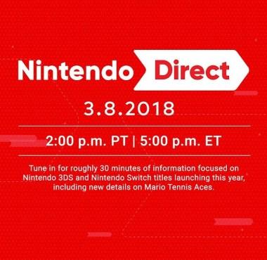 Nintendo Direct (08 de Março)