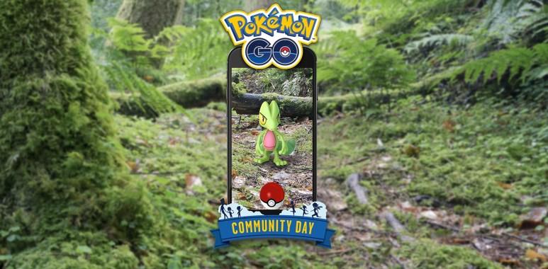 Dia Comunitário de Março terá Treecko como Pokémon em Destaque