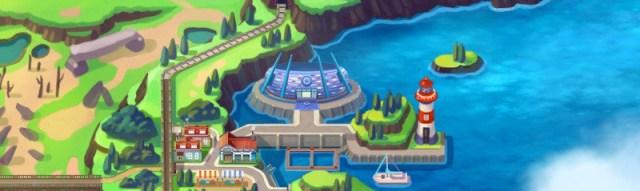 Ginásios de Pokémon Sword & Shield: Water