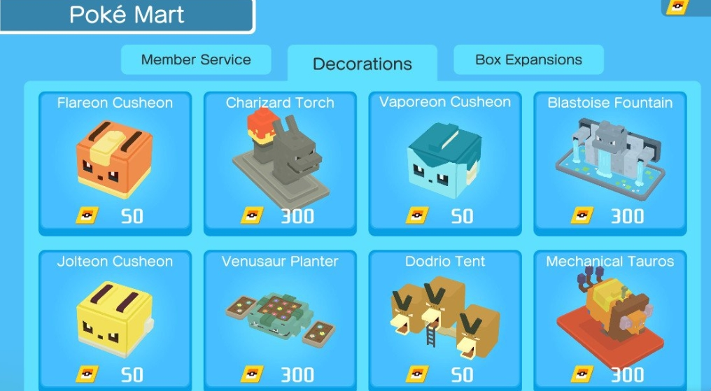 kangaskhan swing chair pokemon quest dining chairs on wheels decorations guide best guides and tactics you can also get from completing the game levels when successfully finishing each expedition receive a decorative statue as
