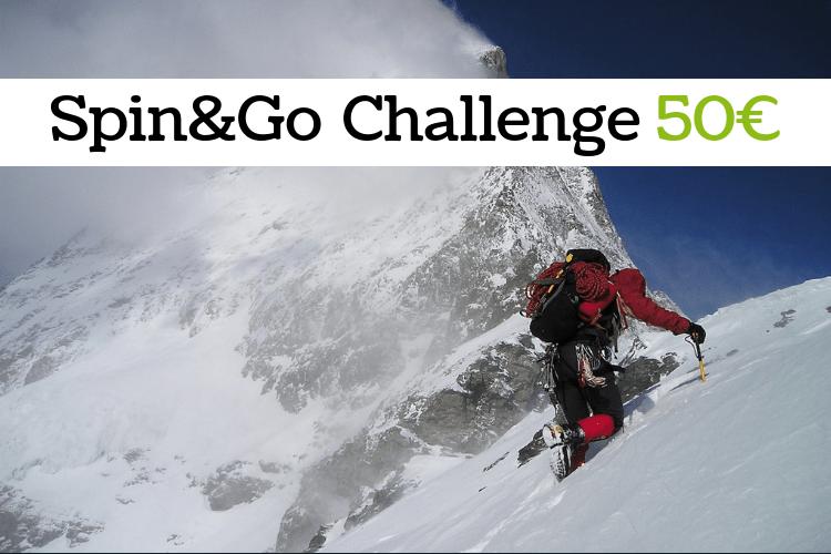 Challenge Spin&Go 50€ -