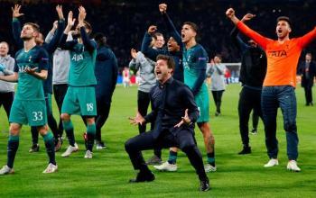 Main Dengan Imbang, Tottenham Sudah Mengamankan Tiket Liga Champions