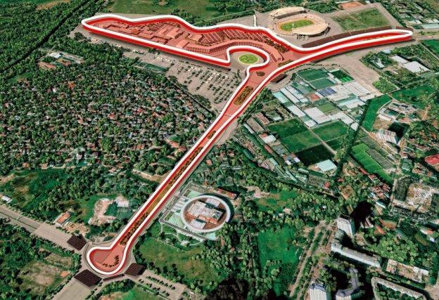 Keadaan Sirkuit Hanoi untuk F1 Vietnam 2020