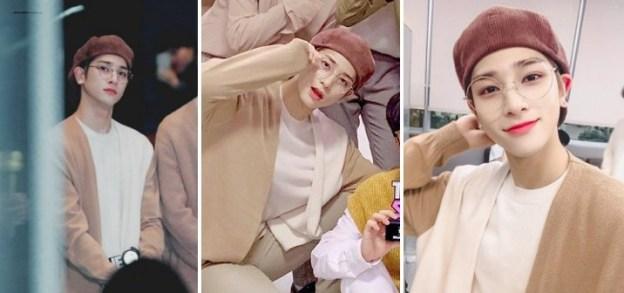 Lee Hangyul X1 Menampilkan Visual Dengan Topi Baret