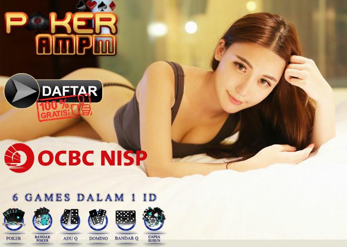 Daftar Poker Bank OCBC Nisp