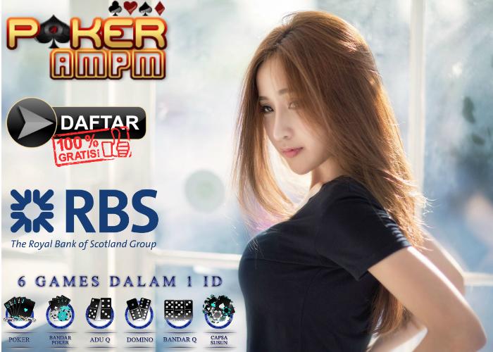Daftar Poker Bank RBS