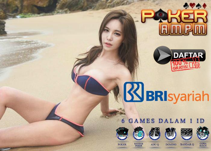 Situs Poker Bank BRI syariah