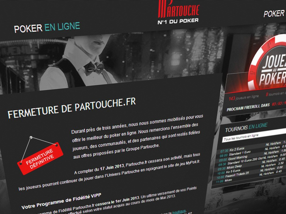 Another Departure In France Partouche Announces Closure