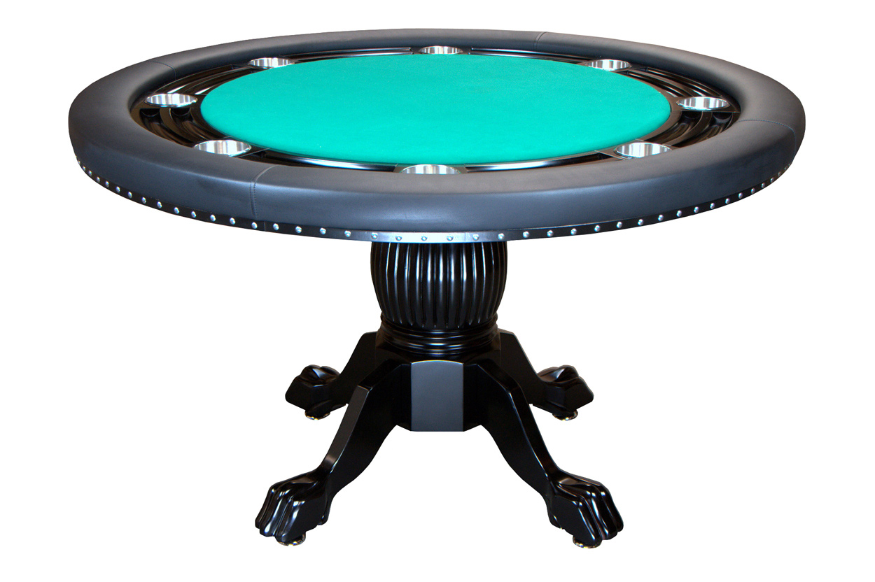 Nighthawk Round Poker Table  Welcome to Poker Tables Canada