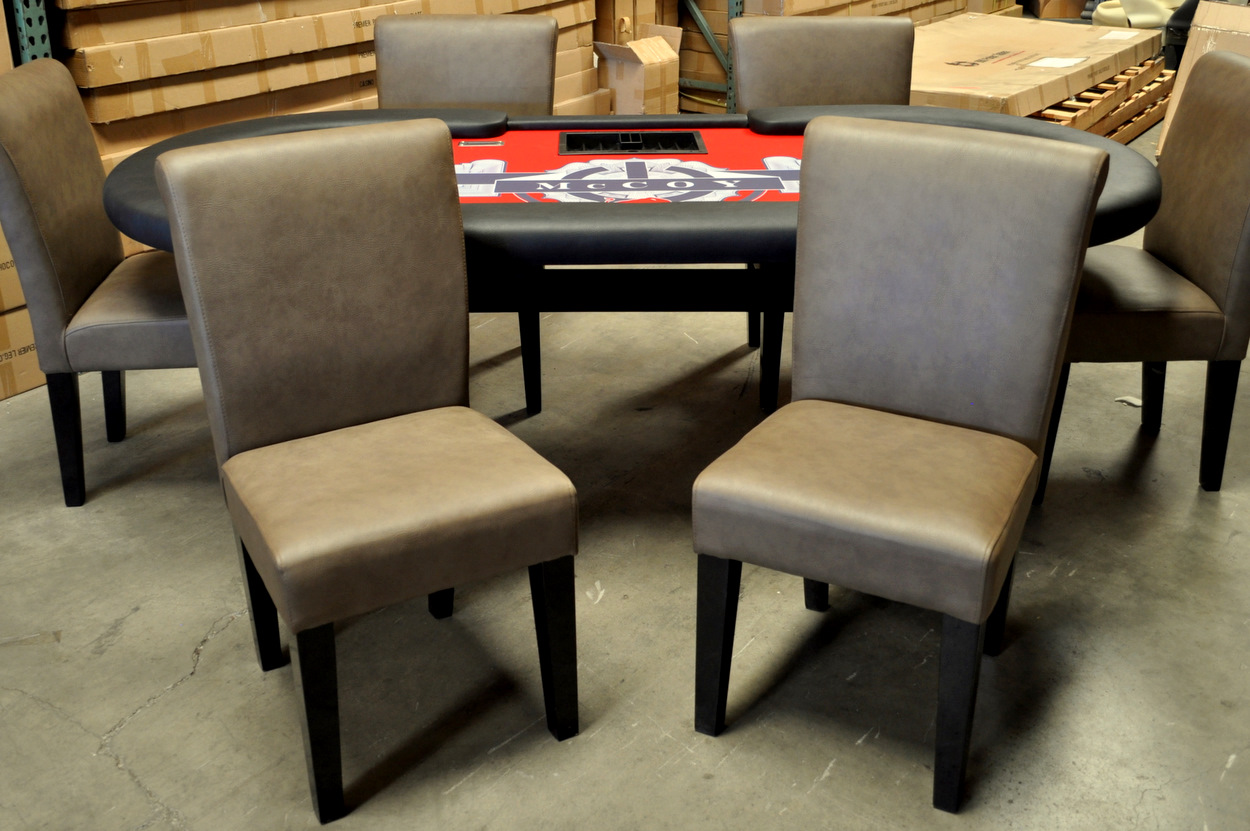 Poker Table With Chairs Matching Chairs Set Of 2 Welcome To Poker Tables Canada