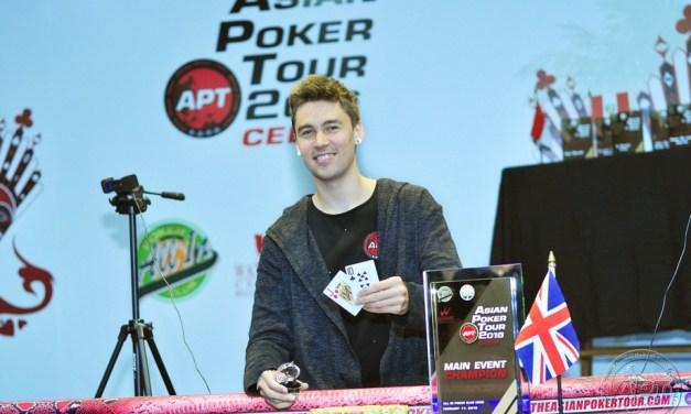 Alex Ward Vương Quốc Anh giành chiến thắng Poker trong sự kiện APT Cebu 2016