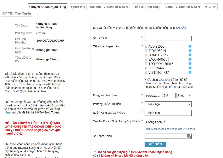 huong dan cach gui tien w88 choi poker online 4 Bắn cá săn thưởng gửi tiền như thế nào?