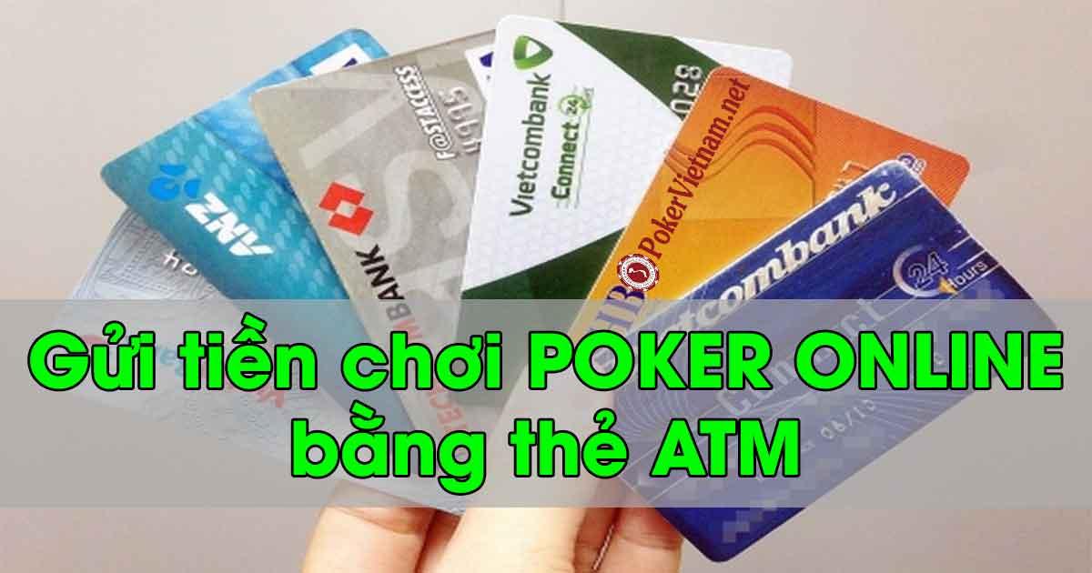 Chơi Poker online tại W88 với thẻ ATM