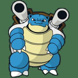 Blastoise type, strengths, weaknesses, evolutions, moves, and stats -  PokéStop.io