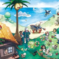 Pokemon Sun and Moon's new Alola artwork is wallpaper worthy