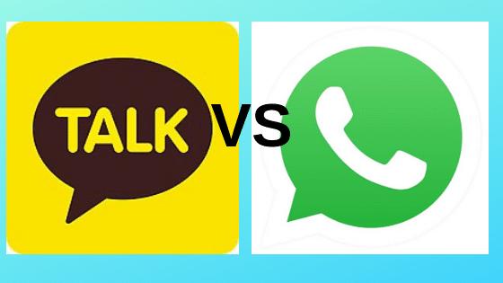 kakaotalk vs whatsapp