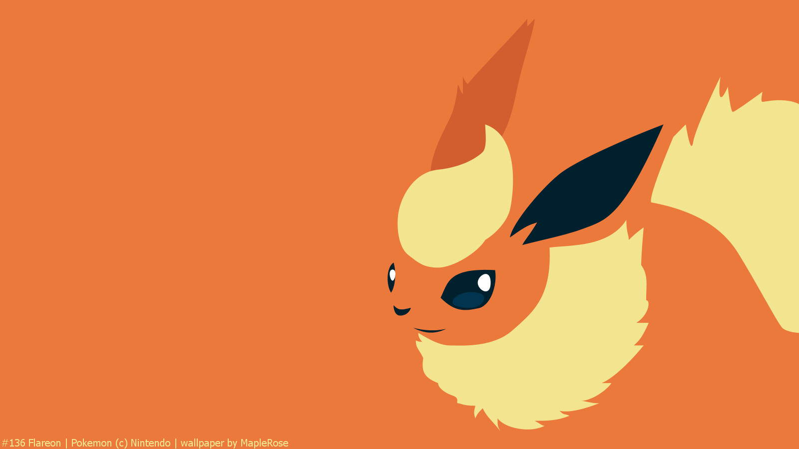 Cute Dragonite Wallpaper 136 Flareon Pok 233 Walls