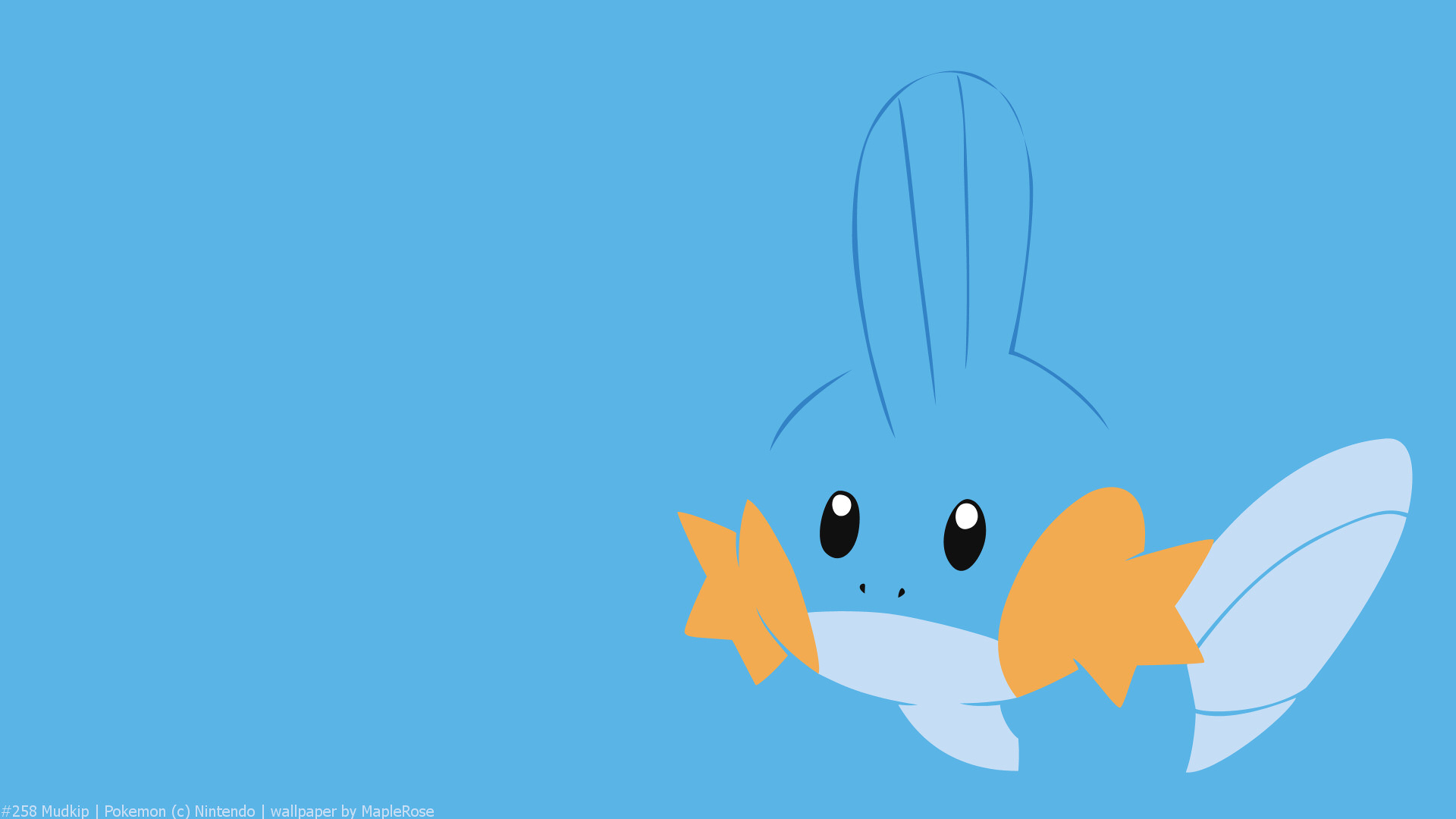 Cute Starter Pokemon Wallpaper 258 Mudkip Pok 233 Walls