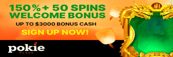 Play Pokies for Money at Pokie Place Online Casino