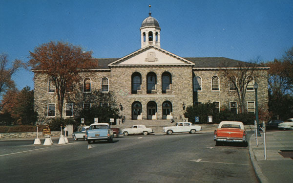 Old image of old Poughkeepsie County Court House