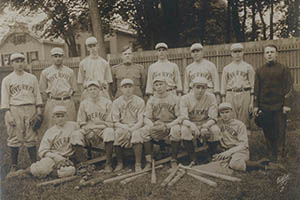 01 - Image of the Riverview Baseball club, 1890