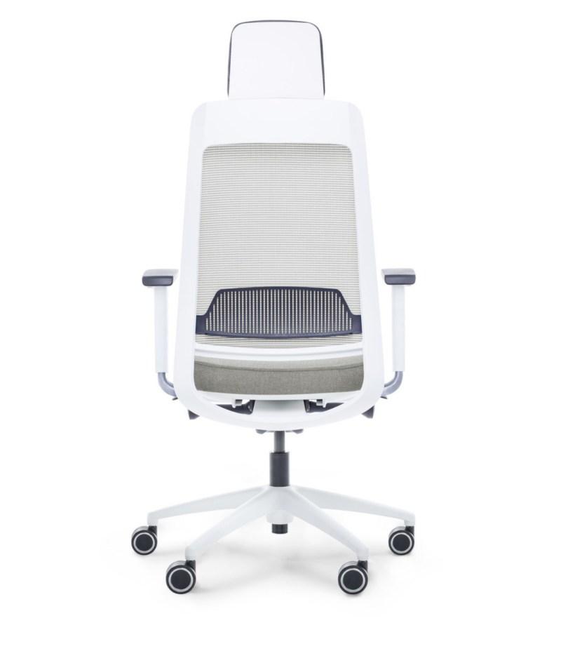 tył fotel szary ergonomiczny Shine EFG 100W