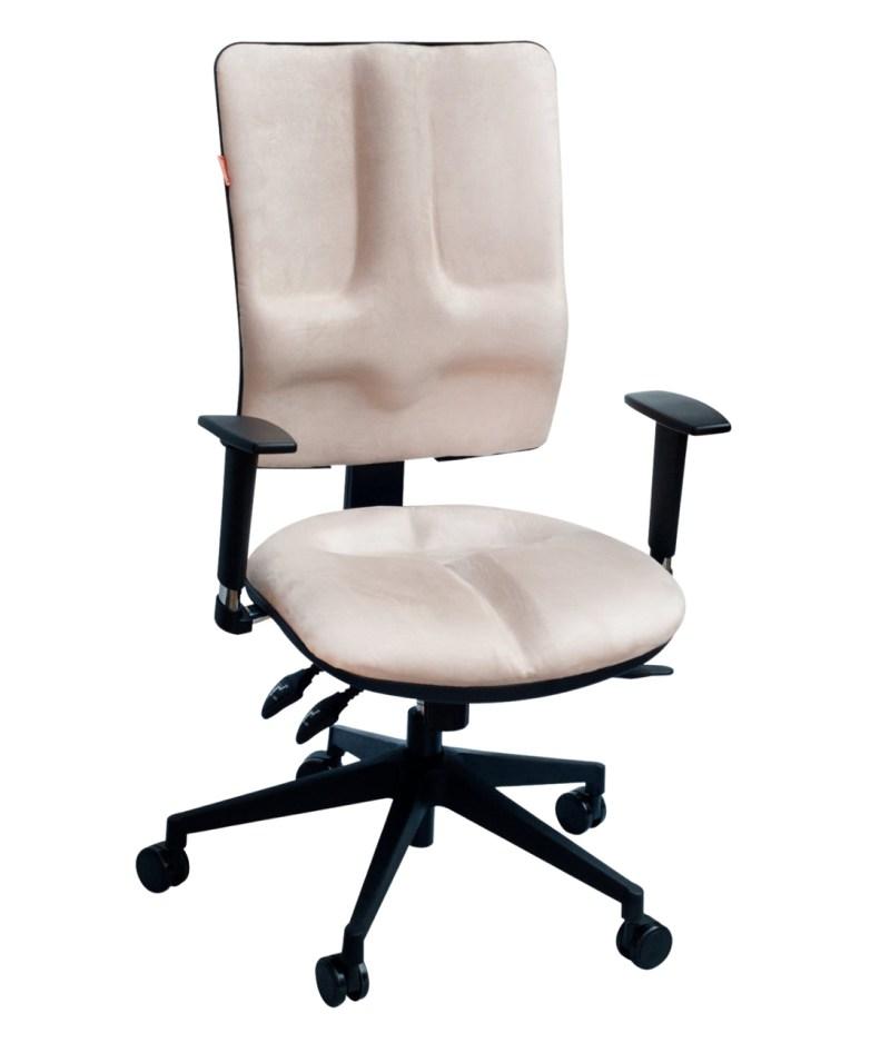 Krzesło białe ergonomiczne biurowe Business