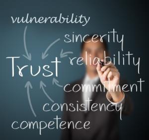 team building trust exercises