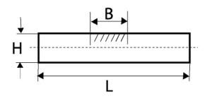 Прутки кованные квадратного и прямоугольного сечения