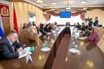 Рабочая встреча с комиссией Совета Федераций