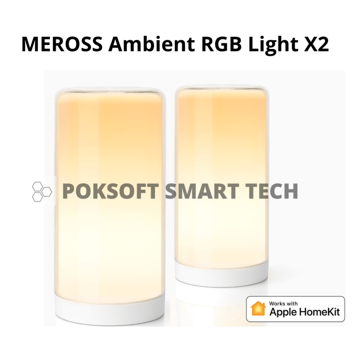 Meross Smart WiFi Ambient Light 一廳一房組合