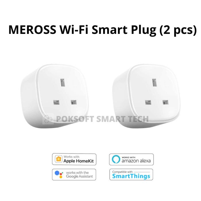 MEROSS SMART PLUG 智能13A插蘇 (2個)優惠組合