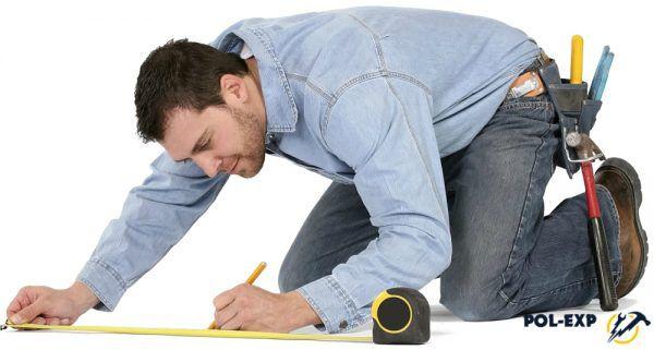 Calcular el área del piso