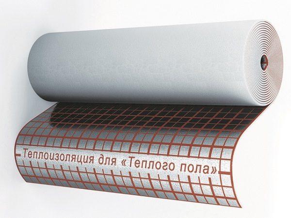 Көбік полиэтиленнен жасалған фольга негізі