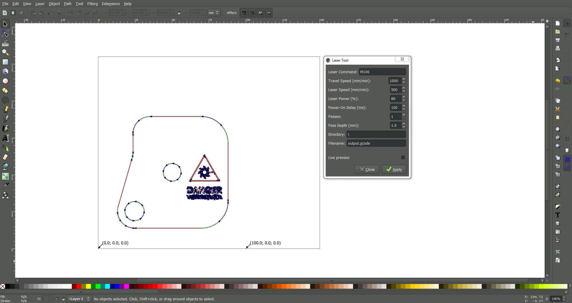 Inkscape Dxf To Gcode