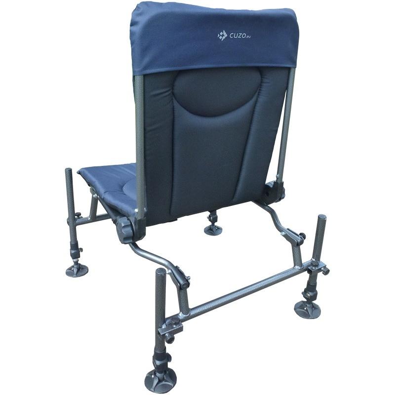 fishing chair cuzo swivel blind fotel feeder method elektrostatyk f2