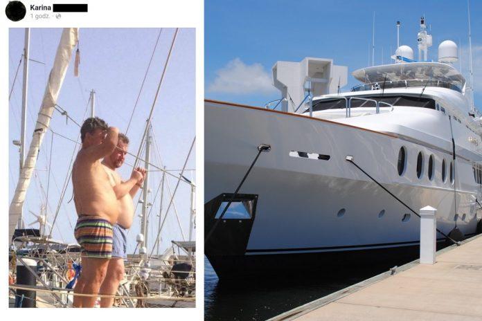 Łukasz Szumowski, jacht Źródło: prt sc Facebook, Pixabay, collage