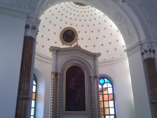 Ruda Maleniecka Kaplica Wewnąrz