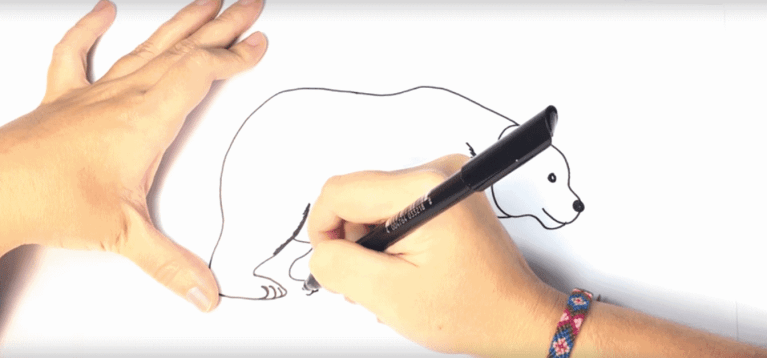 How to Draw a Polar Bear for Kids – Super Simple Steps, Images, Videos