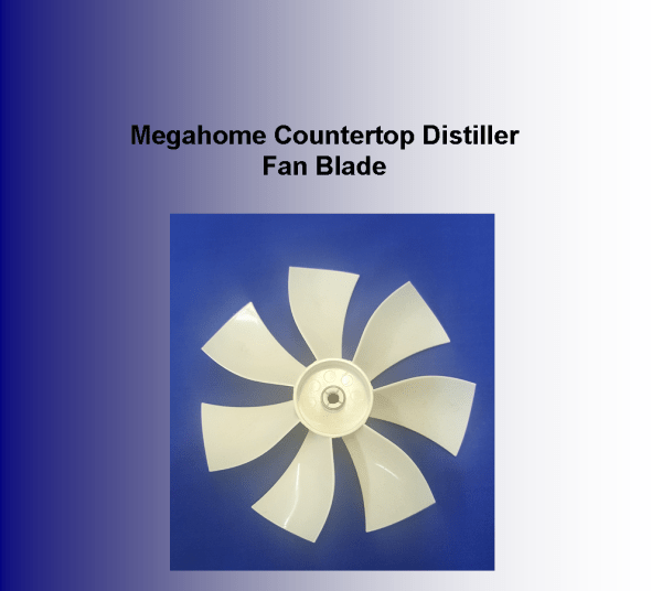 Megahome Countertop Distiller Fan Blade Megahome Distiller - Polar Bear Health & Water