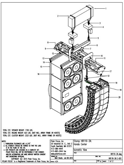 Line Array Speaker Wiring Diagram