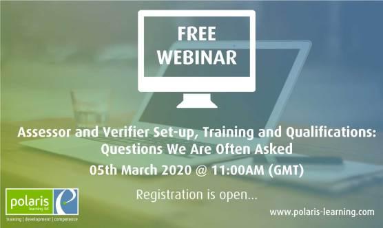 Assessor and Verifier Training