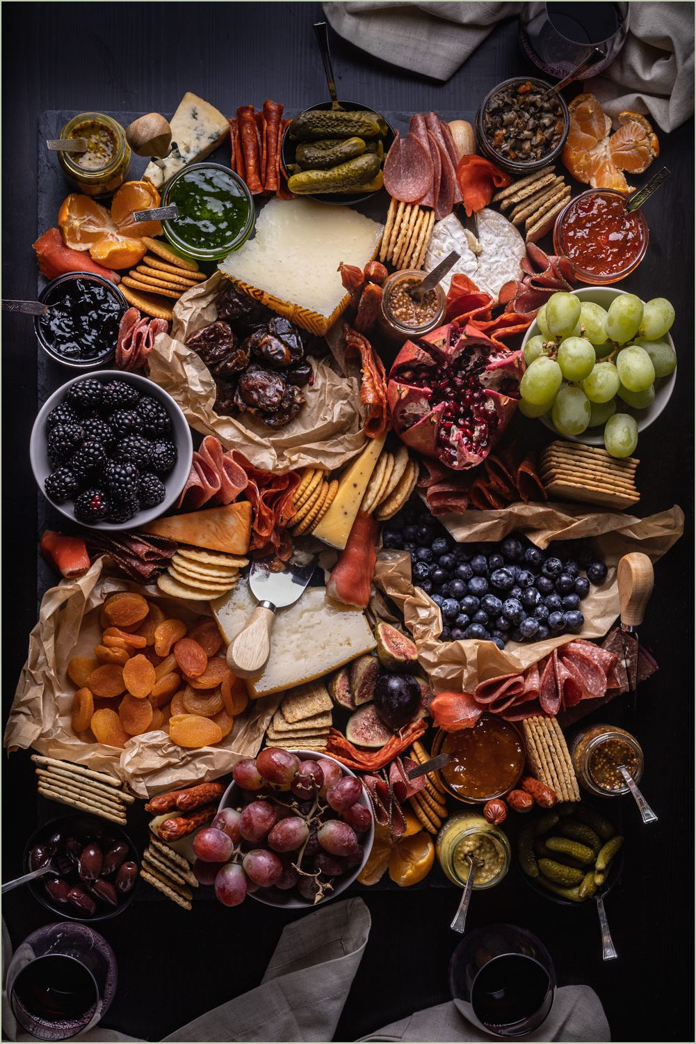 Charcuterie Board - Polaris Creative Food Photography Services