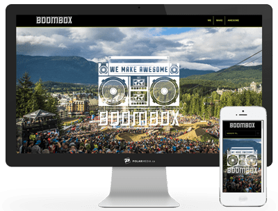 boombox web design agency