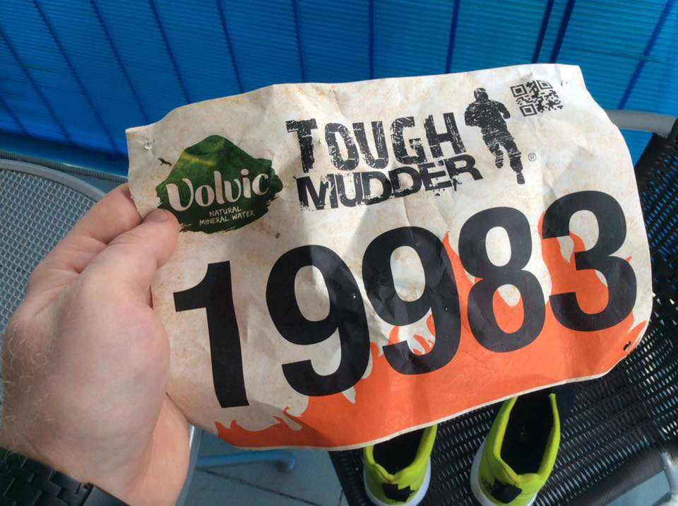 My Tough Mudder number.