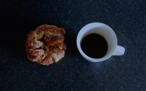 kanelbulle, cinnamon bun, coffee