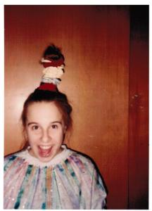 scanned pic of my in 1994.  oh yeah. I'm cool