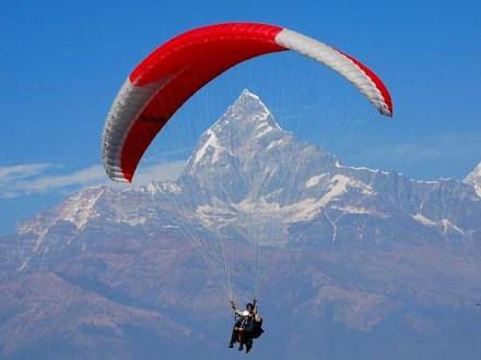 paragliding,pokhara,sarangkot,lakeside pokhara,mahendra cave,lake,pokhara city